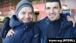 Nuri Primov ve Rustem Vaitov Moskvada körüşkenler