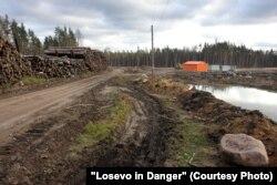Строительство железной дороги Лосево – Каменногорск