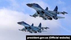 Ukrajinski borbeni avioni