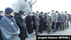 Кыргыз-тажик чек арасы. 19-декабрь, 2013-жыл.