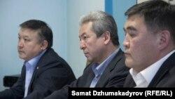 Акматбек Келдибеков, Адахан Мадумаров, Камчыбек Ташиев