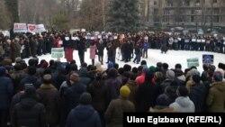 """""""Шарли Эбдого"""" каршы митинг, Бишкек, 20-январь, 2015."""