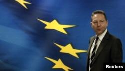 Грчкиот министер за финансии Јанис Стурнарас.