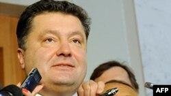 Новопризначений міністр закордонних справ України Петро Порошенко