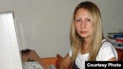 """Lusine Barseghian of the """"Haykakan Zhamanak"""" daily"""
