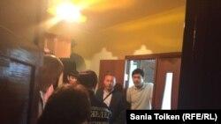 Обыск в доме Талгата Аяна. 20 мая 2016 года.