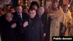 Ukraine -- Владимир Константинов в церкви, 11Apr2014