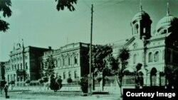 Vedere a Chișinăului în epoca Unirii (Foto: Radu Osadcenco, Chișinău 1918)