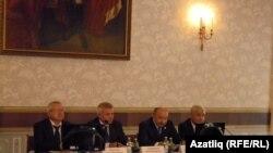Олег Морозов, Вахит Алекперов, Илшат Гафуров, Фәрит Мөхәммәтшин