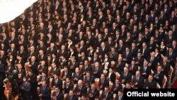 Пратеници во таџикистанскиот Парламент.