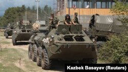 Военные учения российских сил в Абхазии и Южной Осетии стали «рутинными». Гудаута, 13 августа 2018 г.