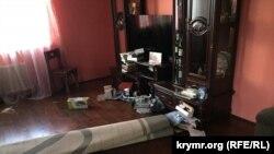 Последствия обыска в доме замглавы Меджлиса Ахтема Чийгоза в Бахчисарае