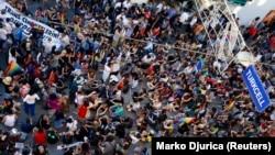 Стамбулдың орталығында өткен гейлердің құқығын қорғау шеруі. 23 маусым 2013 жыл (Көрнекі сурет).