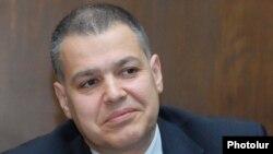 Член Исполнительного органа РПА, министр-руководитель аппарата правительства Давид Арутюнян (архив)
