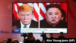 Presidenti i SHBA-së, Donald Trump dhe udhëheqësi i Koresë së Veriut, Kim Jong Un. (Foto ilustruese)