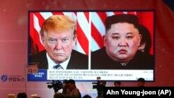 Donald Tramp i Kim Džong Un, ilustrativna fotografija