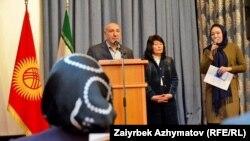 Иран тасмаларынын жумалыгынын ачылышында. Бишкек, 7-февраль, 2018-жыл.