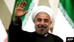 Иран президенті Хассан Роухани. Тегеран, 17 маусым 2013 жыл.