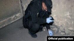 Фото з місця вибуху (з сайту управління Національної поліції)
