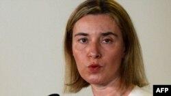 Верховний представник ЄС із зовнішньої політики та політики безпеки Федеріка Моґеріні