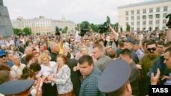 Протестные акции в Воронеже собирали и больше участников