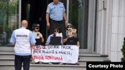 Miliția Spirituală protestează împotriva noii legislații a supravegherii din România