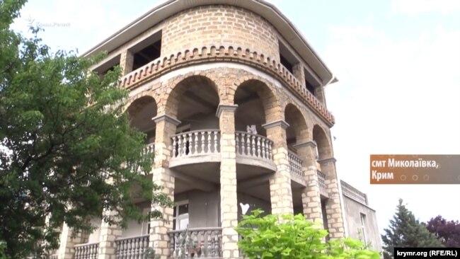 Недостроенный дом Георгия для отдыхающих