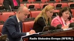Министерот за финансии Драган Тевдовски.