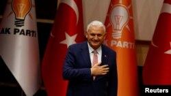 Бинали Йылдырым. Анкара, 19-май, 2016-жыл.