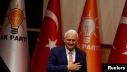 Бинали Йылдырым, новый глава правящей Партии справедливости и развития Турции.