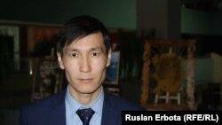 Начальник управления департамента молодежной политики министерства образования и науки Досулан Айтпаев.
