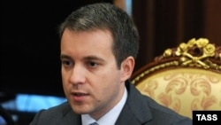 Russian Communications Minister Nikolai Nikiforov (file photo)