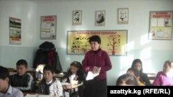 Жалал-Абад облусундагы орус тилдүү Кочкор-Ата мектеби