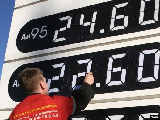 Акцизы на бензин будут расти следующие три года