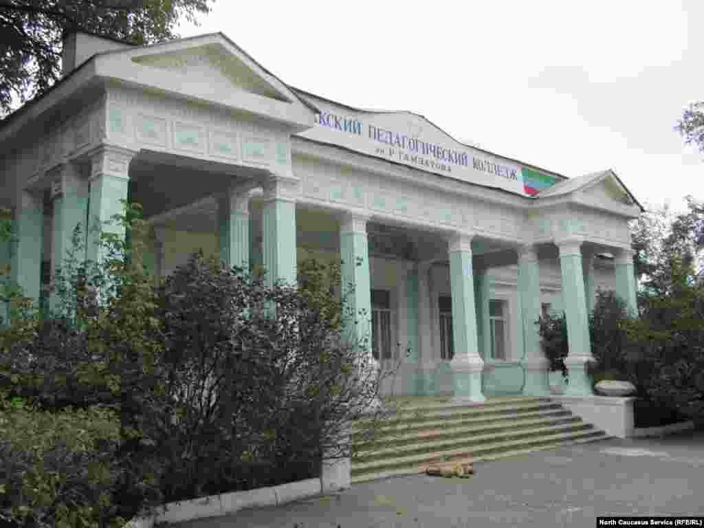 Резиденция губернатора Дагестанской области в Темир-хан-шуре(Буйнакске)