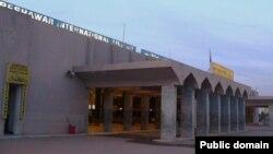 Содырлар жолаушылар ұшағына оқ жаудырған Bacha Khan International Airport әуежайы. Пешавар, 24 маусым 2014 жыл.