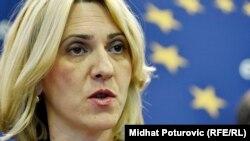 Željka Cvijanović , premijerka RS