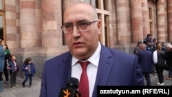 Armenia's acting Minister of Energy and Natural Resources Garegin Baghramian