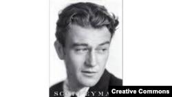 "Coperta unei biografii a lui John Wayne ""The Life and Legend"" de Scott Eyman"