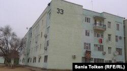 Дом № 33 в Жанаозене. 10 декабря 2012 года.