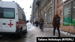 Улицы Санкт-Петербурга, 9 февраля 2019 год