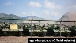 У Бурятії зняли з консервації старі танки «для відправлення у війська». Фото – офіційний портал Республіки Бурятія