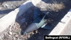 """Една от снимките на руска ракета """"Тор М-1"""", за които говори Грозев"""