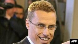 ფინეთის ევროპის საქმეთა მინისტრი ალექსანდერ სტუბი ლუქსემბურგში