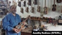 Yaşı 70-i haqlamış tar ustası Rəşid Məmmədov, 21.09.2016