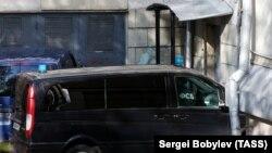 Рассмотрение ходатайства об аресте подозреваемых в причастности в подготовке теракта в Москве