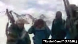 Tajikistan -- Video of armed groups in Rasht mountains from Dailymotion's site, 11Nov2010