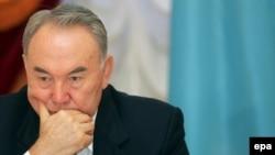 Қазақстан президенті Нұрсұлтан Назарбаев. Ақпан, 2007 ж.
