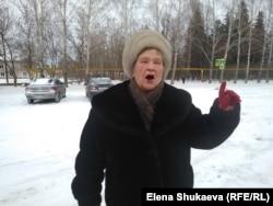 Пенсионерка Екатерина Николаевна
