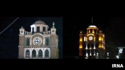 شنبه ساعت هشت و نیم شب: ساختمان تاریخی میدان ساعت و ساختمان مرکزی شهرداری تبریز و چند ساختمان دیگر، برای گرامیداشت «ساعت زمین» یک ساعت خاموش شدند.